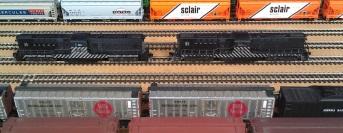 DT6-6-2000 ATSF 2601 & 2602 Bearwood 9-8-2014