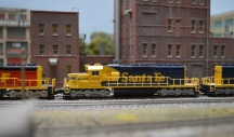 SF SD40-2 2 Bearcross 9-8-2014