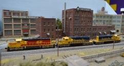 SF SD40-2 3 Bearcross 9-8-2014