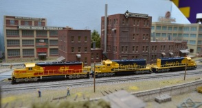 SF SD40-2 3 Bearcross 9-8-2014