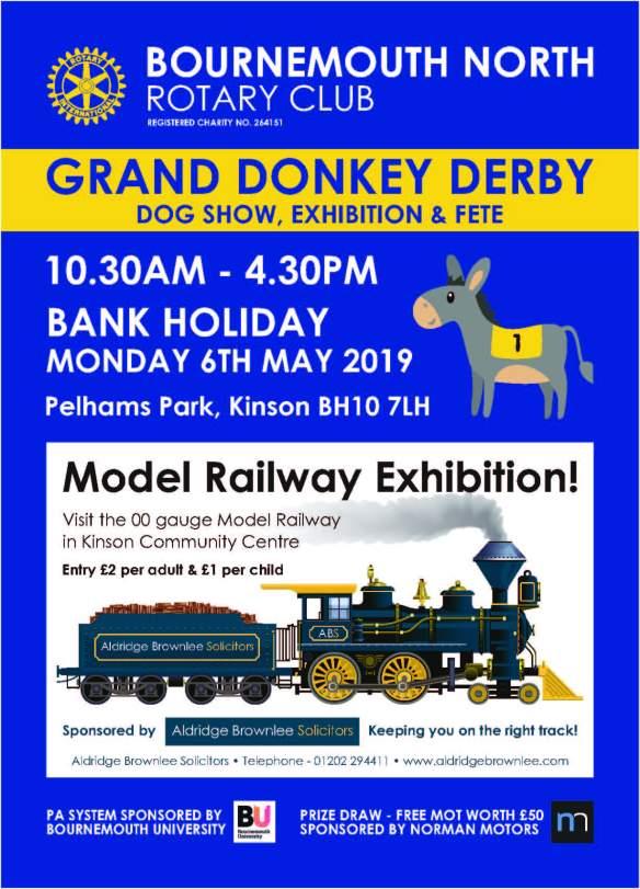 Donkey Derby 2019 Front Cover final